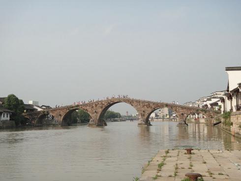 El gran Canal de China, puente de Tangqi, China, Patrimonio de la Humanidad