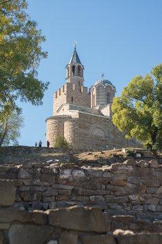 Iglesia ortodoxa de Tsaverets, en Veliko Tarnovo, Bulgaria