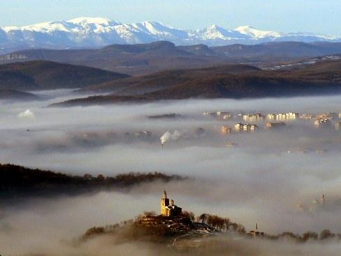 Taverets de Veliko Tarnovo y el entorno natural