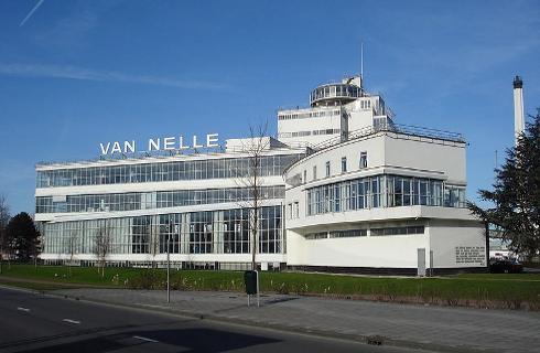 La fábrica de Van Nelle, en Rotterdam, Países Bajos