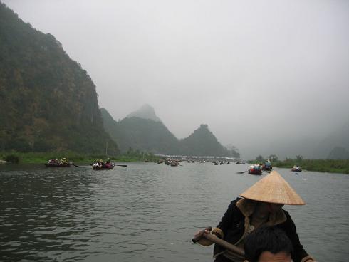 Los paisajes de Trang An, en Vietnam