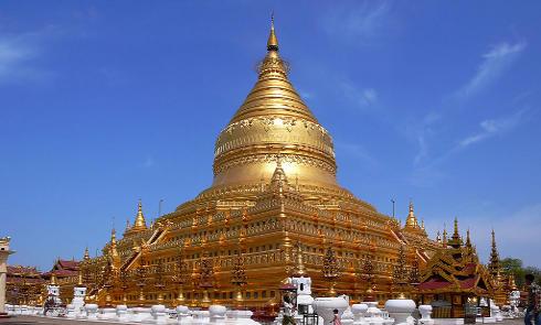 Pagoda de Swezigon, Birmania, Patrimonio de la Humanidad