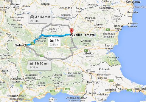Dónde se encuentra Veliko Tarnovo, Bulgaria