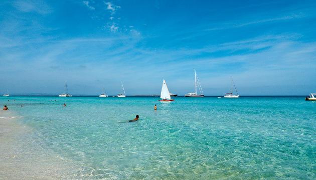 Cala de Ses Illetes, Formentera, Baleares