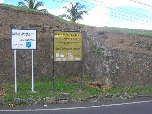Fuerte San Pedro y Pablo, Isla de Ternate, Indonesia