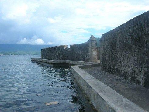 Fuerte de Kalamata, isla de Ternate, Indonesia