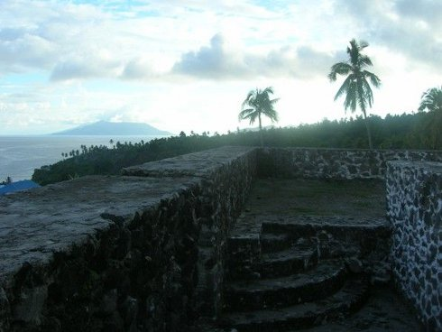 Fuerte español de Tidore, isla de Tidore, Indonesia