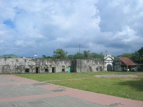 Fuerte español y portugués de Ternate, isla Ternate, Indonesia