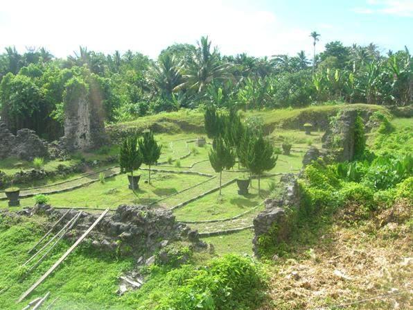 Fuerte español para proteger las especias, isla Ternate, Indonesia