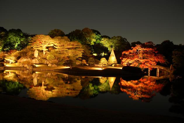 Jardín de Rikugien, en Tokyo