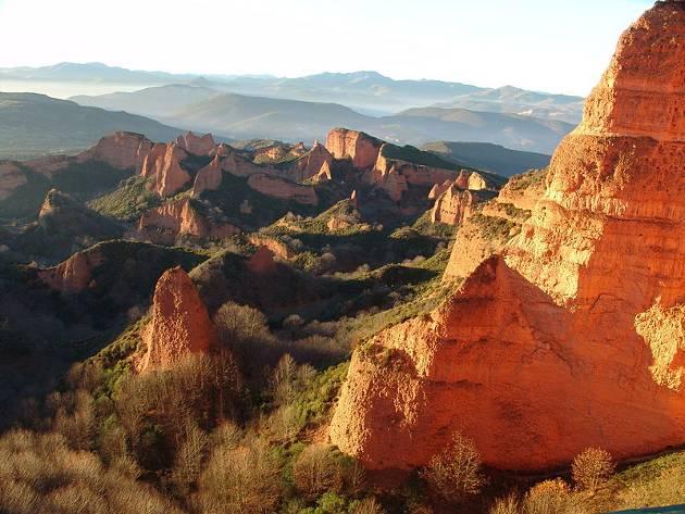 Las Médulas, en León, maravilla natural de España
