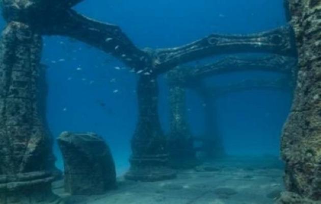 Las ruinas submarinas de Port Royal, en Jamaica