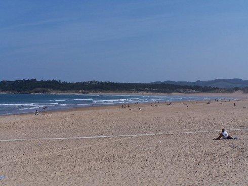 Playa de Somo, Cantabria, España