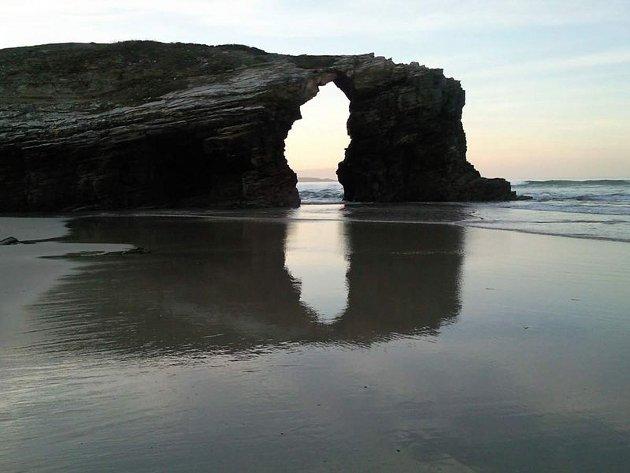 Playa de las Catedrales, Galicia, maravilla natural de España