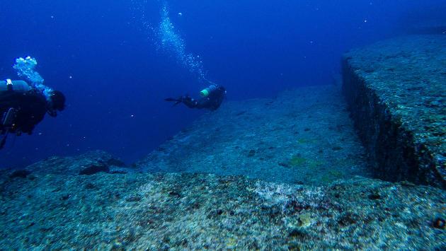 Ruinas submarinas de Yunaguni, Japón