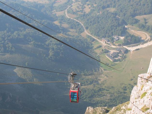 Teleférico de Fuente Dé, Cantabria, maravilla natural de España