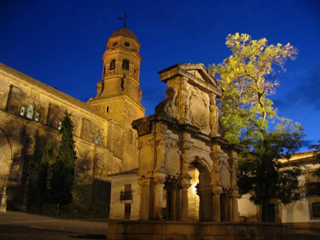Catedral de Baeza, en Jaén, Andalucía