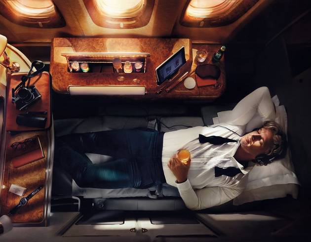 Emirates Airlines A380 Suite de primera clase