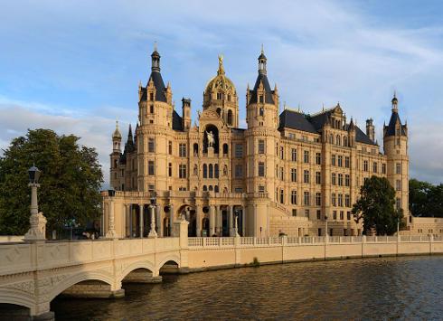 Palacio de Schwerin-Schloss, en Schwerin, Alemania