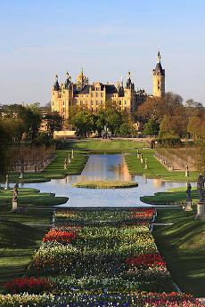 Palacio-castillo de Schwerin, Alemania