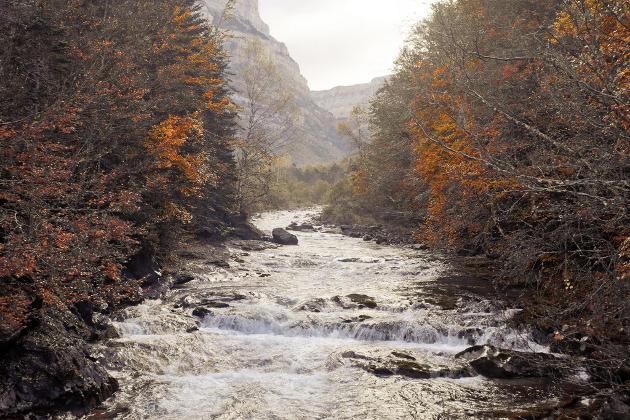 Senderismo en Ordesa y Monte Perdido, en Aragón