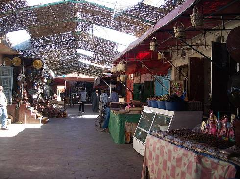 Zoco de Ouarzazate, Marruecos
