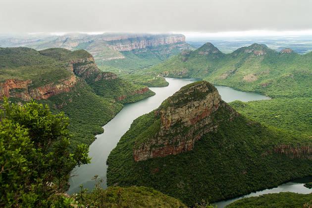 Cañón Blyde en Sudáfrica