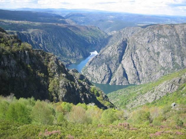 Cañón del río Sil, en Galicia , España