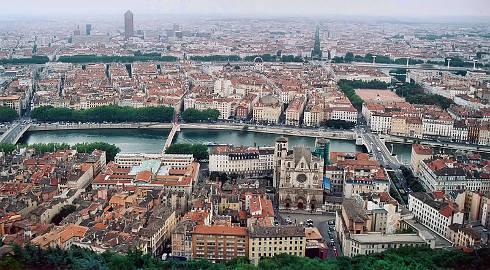Lyon desde Fourviere