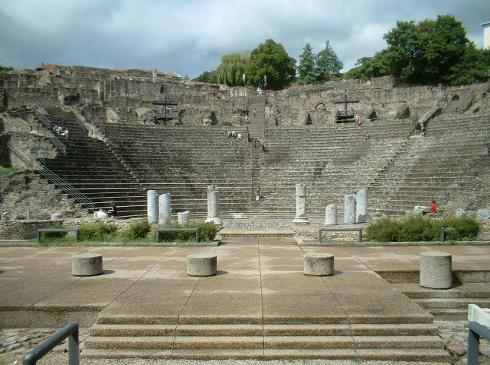 Teatro Romano de Lyon, en Fourviere