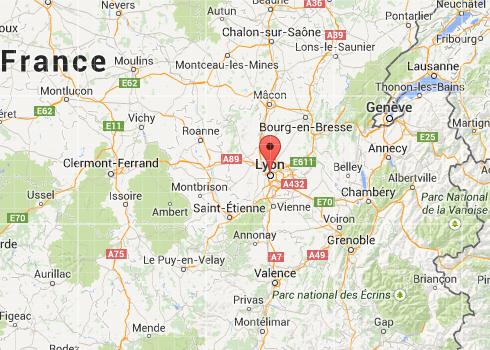 Dónde está Lyon en Google maps